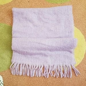 J Crew wrap scarf in purple